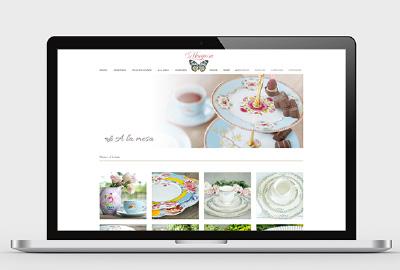 Mariposa sitio web
